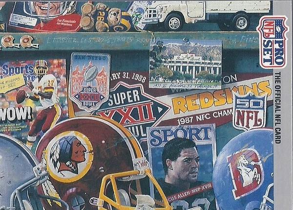 1990 Pro Set Super Bowl XXV Puzzle #6
