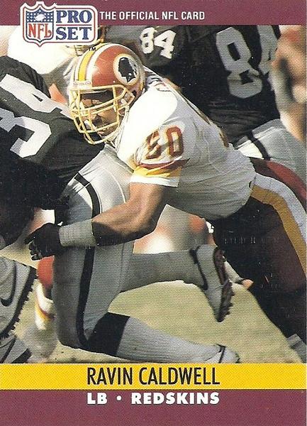 Ravin Caldwell 1990 Pro Set