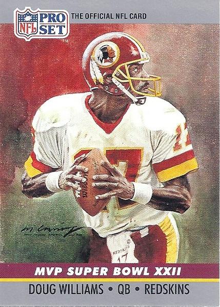 Doug Williams Super Bowl MVP 1990 Pro Set