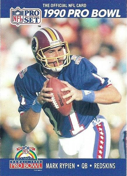 Mark Rypien Pro Bowl 1990 Pro Set