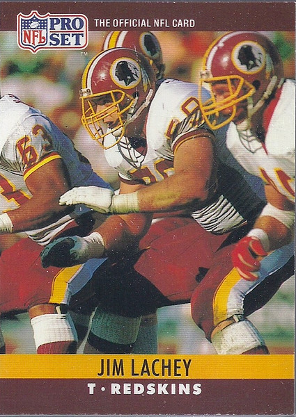 Jim Lachey 1990 Pro Set