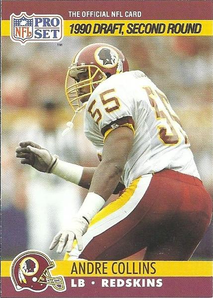 Andre Collins 1990 Pro Set