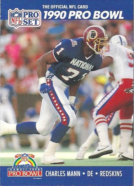 Charles Mann Pro Bowl 1990 Pro Set