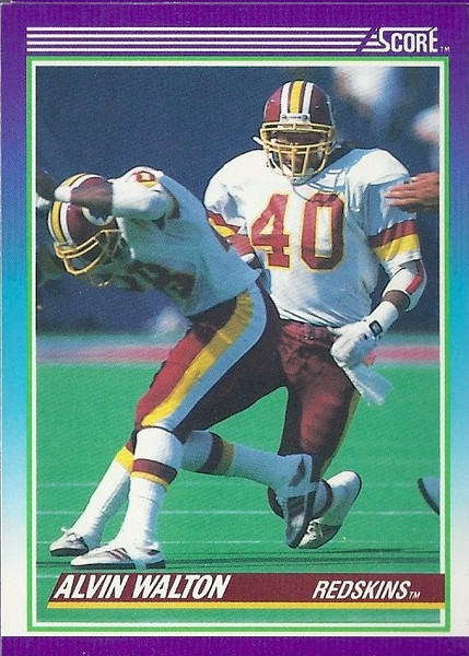 Alvin Walton 1990 Score