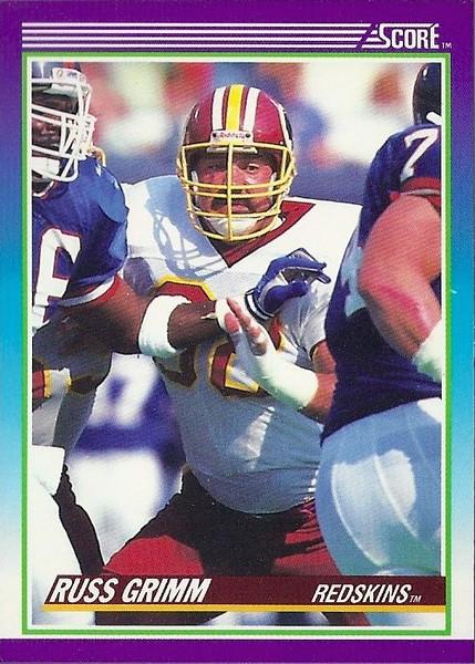 Russ Grimm 1990 Score