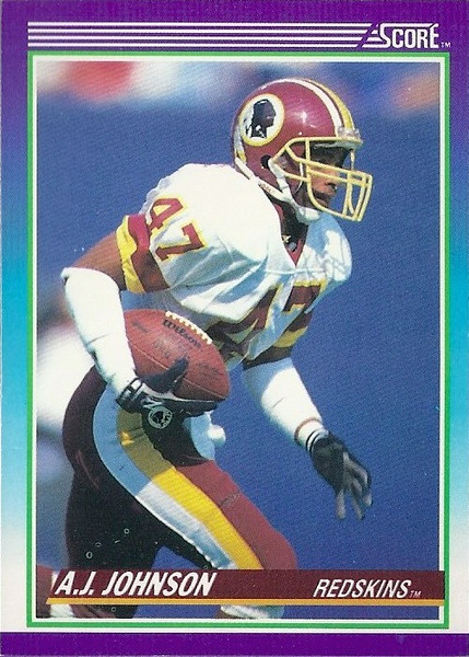 AJ Johnson 1990 Score