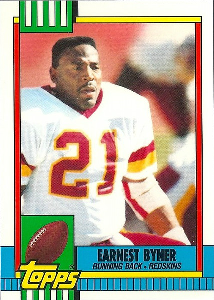 Earnest Byner 1990 Tiffany Topps