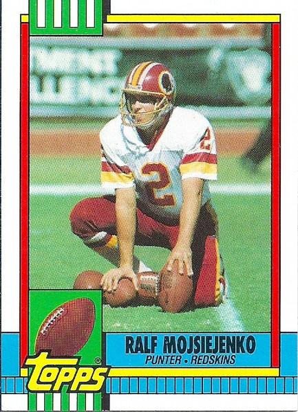 Ralf Mojsiejenko 1990 Topps