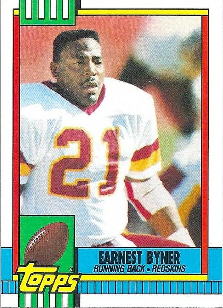 Earnest Byner 1990 Topps