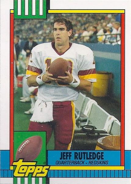Jeff Rutledge 1990 Topps