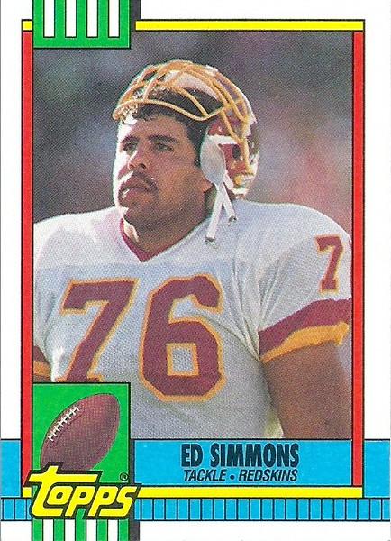 Ed Simmons 1990 Topps