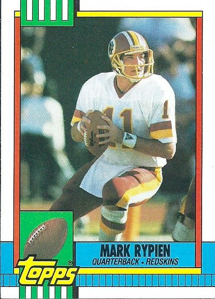 Mark Rypien 1990 Topps