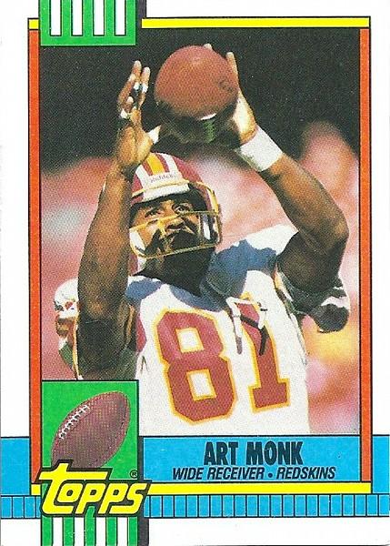 Art Monk 1990 Topps