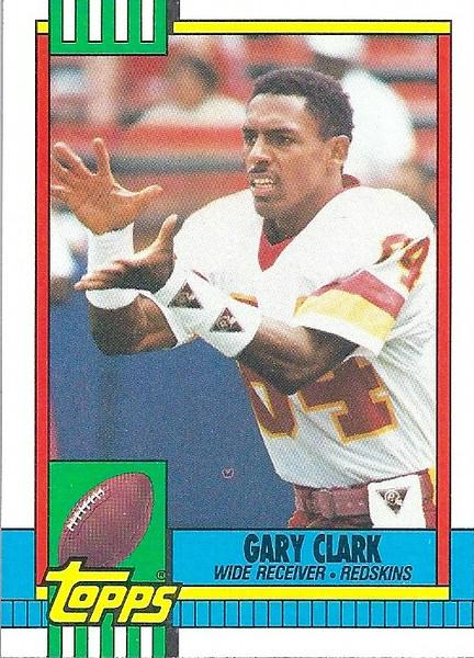 Gary Clark 1990 Topps