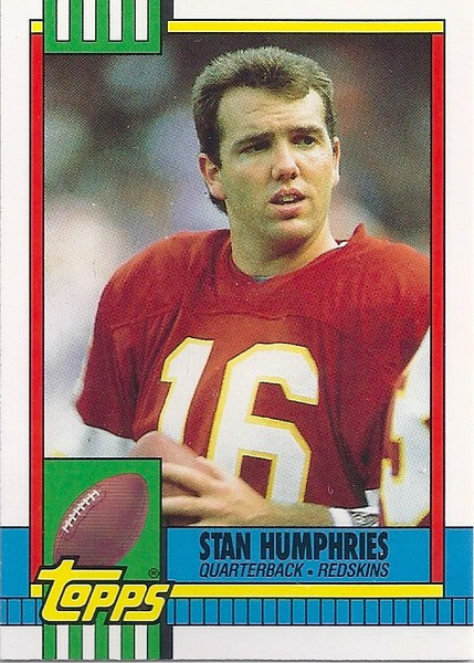 Stan Humphries 1990 Topps Traded