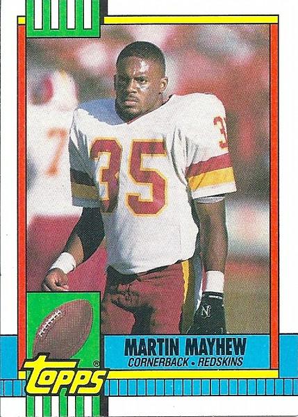 Martin Mayhew 1990 Topps