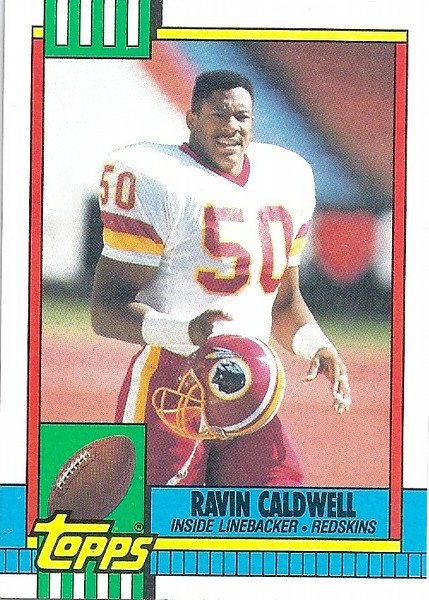 Ravin Caldwell 1990 Topps