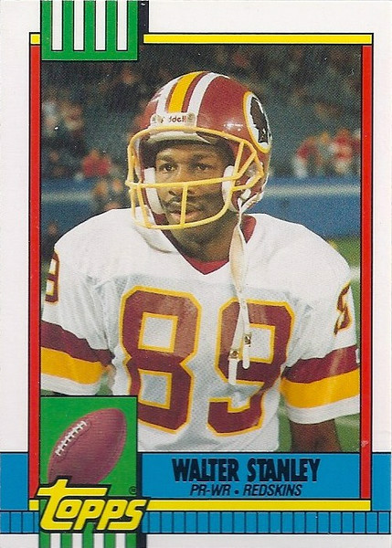 Walter Stanley 1990 Topps Traded