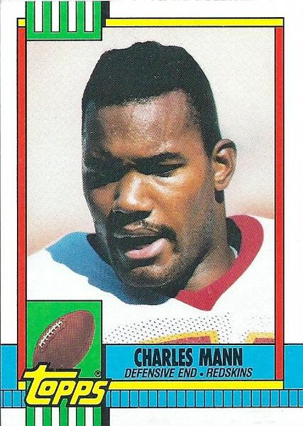 Charles Mann 1990 Topps