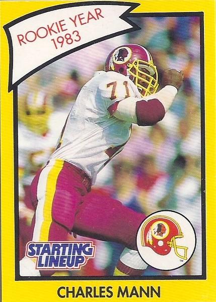 1990 Starting Lineup Charles Mann Rookie Year