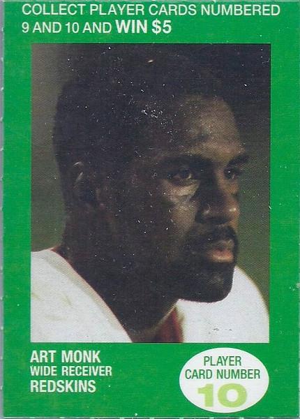 1990 BP Oil Art Monk