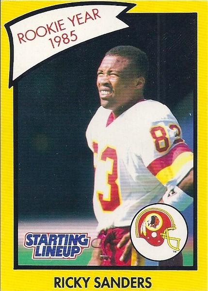 1990 Starting Lineup Ricky Sanders
