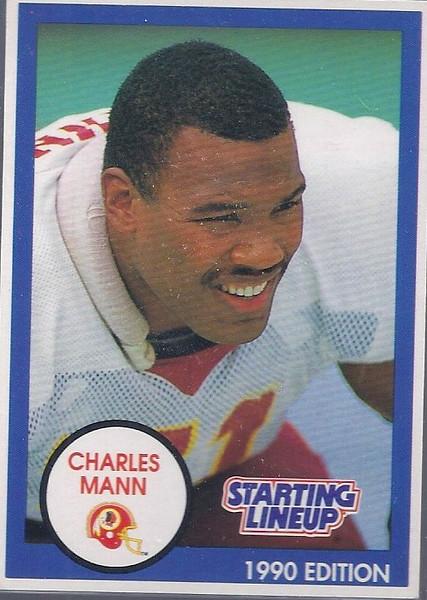1990 Starting Lineup Charles Mann