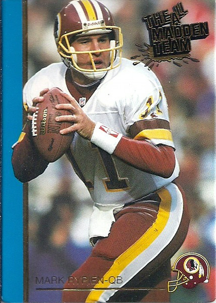 1991 Action Packed Mark Rypien