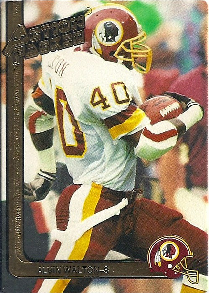 1991 Action Packed Alvin Walton
