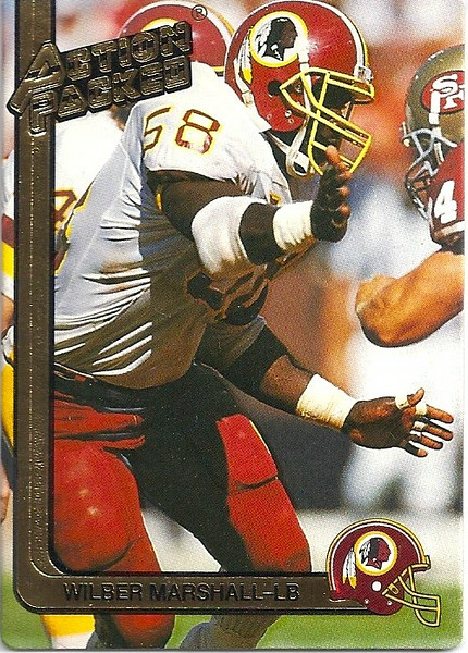 1991 Action Packed Wilber Marshall