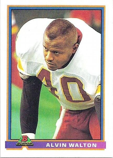 Alvin Walton 1991 Bowman