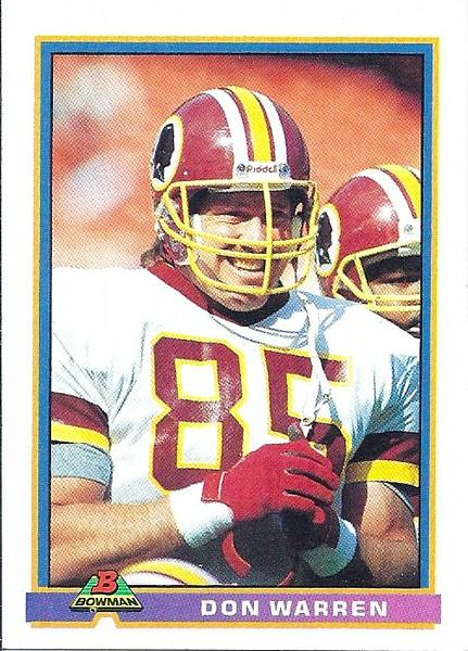 Don Warren 1991 Bowman