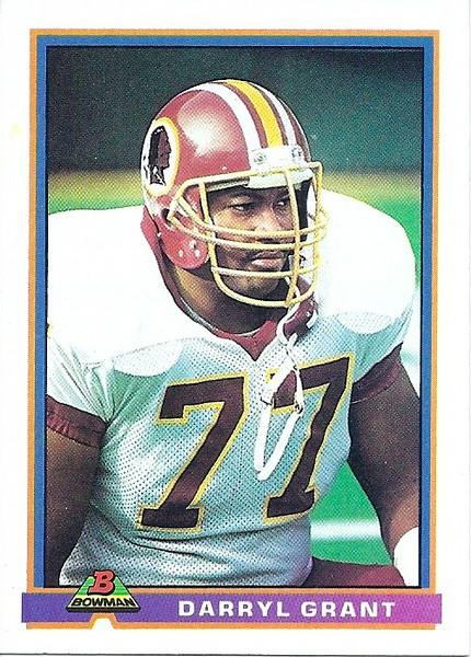 Darryl Grant 1991 Bowman
