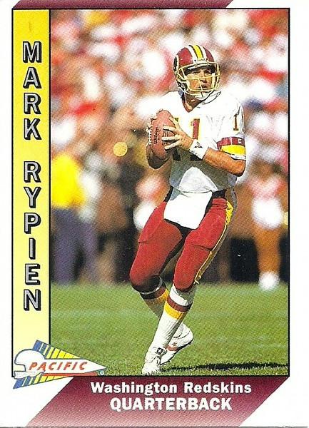 Mark Rypien 1991 Pacific