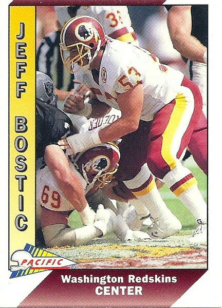 Jeff Bostic 1991 Pacific