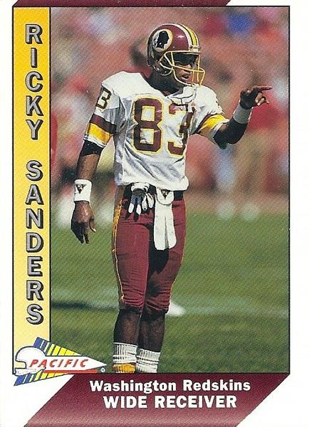 Ricky Sanders 1991 Pacific