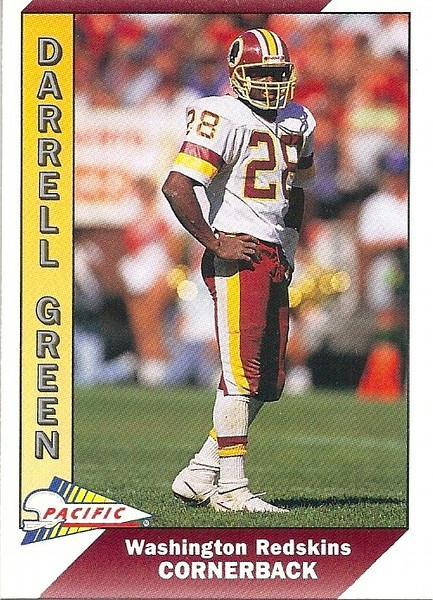 Darrell Green 1991 Pacific