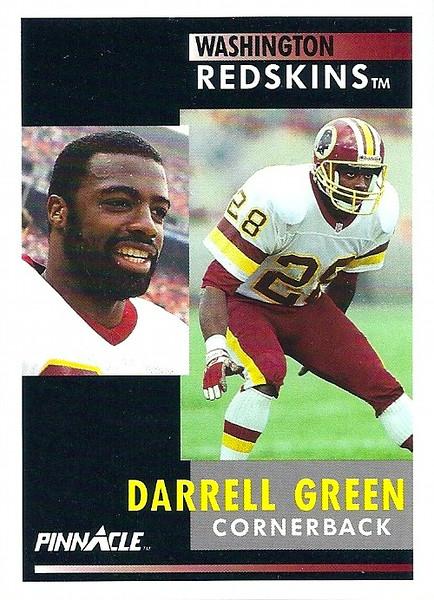 Darrell Green 1991 Pinnacle