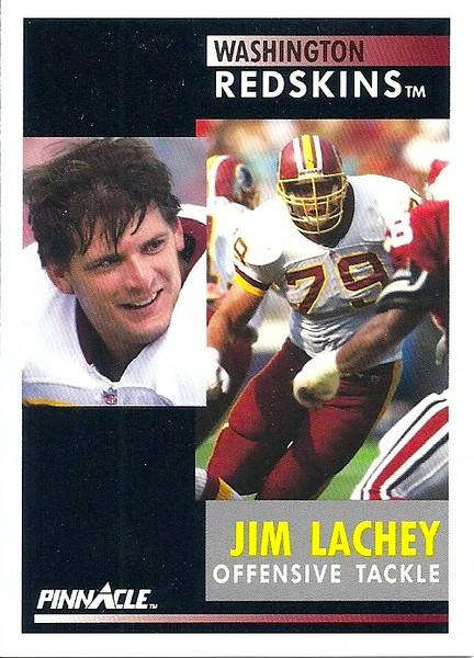 Jim Lachey 1991 Pinnacle