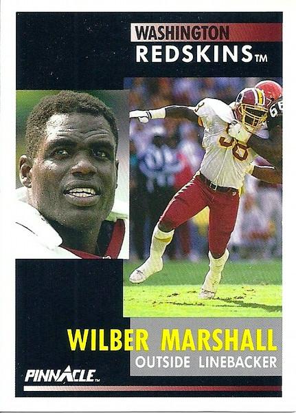 Wilber Marshall 1991 Pinnacle