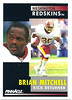 Brian Mitchell 1991 Pinnacle