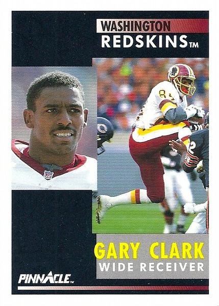 Gary Clark 1991 Pinnacle