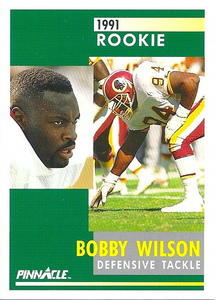 Bobby Wilson 1991 Pinnacle