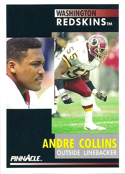 Andre Collins 1991 Pinnacle