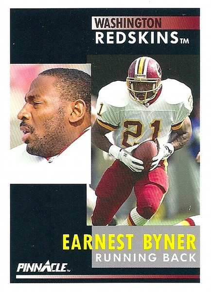Earnest Byner 1991 Pinnacle