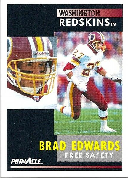 Brad Edwards 1991 Pinnacle