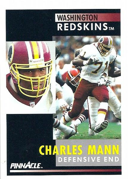 Charles Mann 1991 Pinnacle