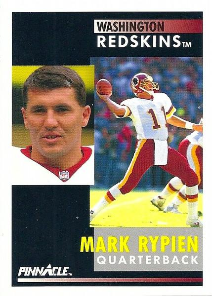 Mark Rypien 1991 Pinnacle