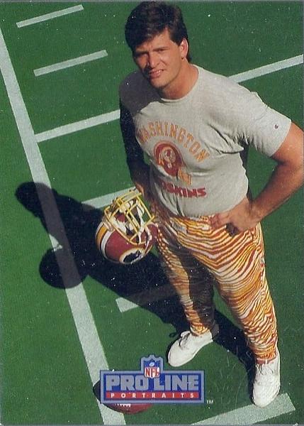 Jim Lachey 1991 Pro Line Portraits Autographs