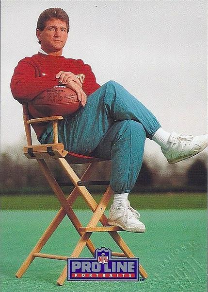 Joe Theismann 1991 Pro Line Portraits National Convention
